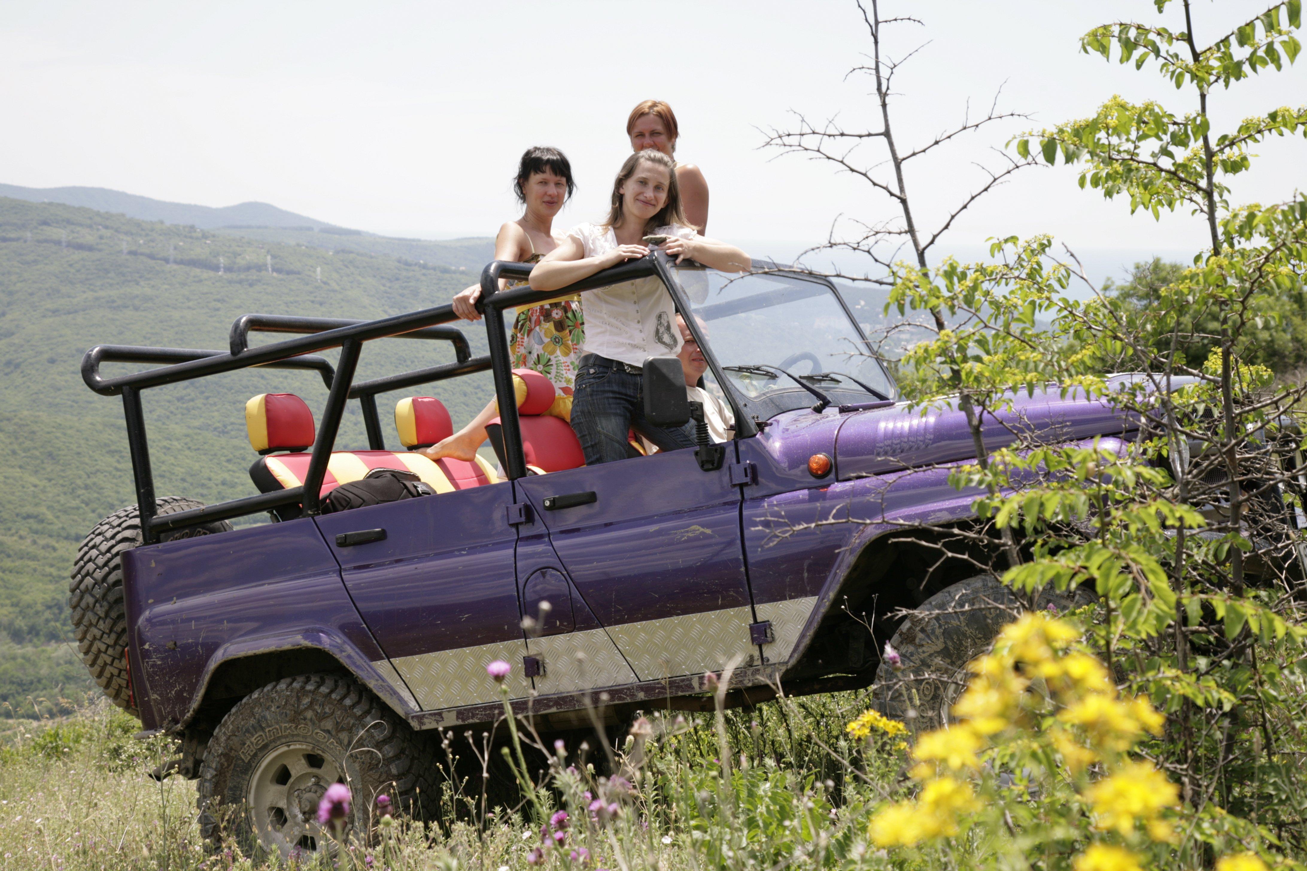 поездки в горы на джипах